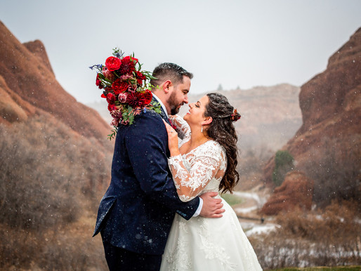 Kaitlyn and Lance's Winter Wedding at Arrowhead Golf Course - Denver Colorado Wedding Photography