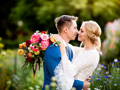 A Vibrant Boho Summer Wedding at Lyons Farmette - Colorado Mountain Wedding Photography