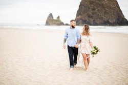 Cannon Beach Engagement Photographer