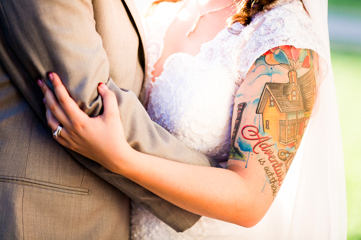 Tattoo Bride Wedding Photos