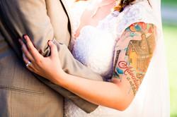 Tattoo Bride Wedding Photos