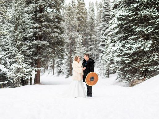 Tayler & Alex's Magical WINTER Breckenridge Wedding - Colorado Mountain Wedding Photographer