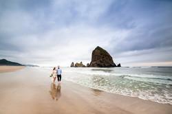 Cannon Beach Oregon Engagement