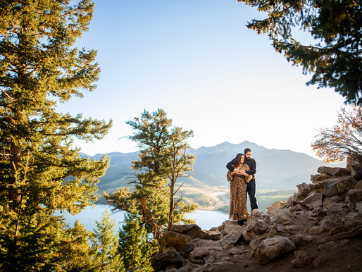 Kaitlyn and Lance's Fall Engagement Near Breckenridge - Colorado Mountain Wedding Photography