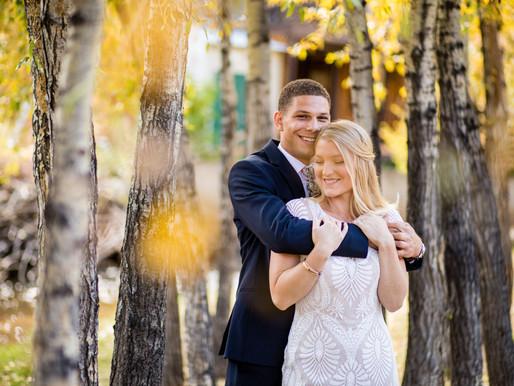 Claire & Robert's Fall Wedding in Estes Park, Colorado - SkyView at Fall River Wedding Photography