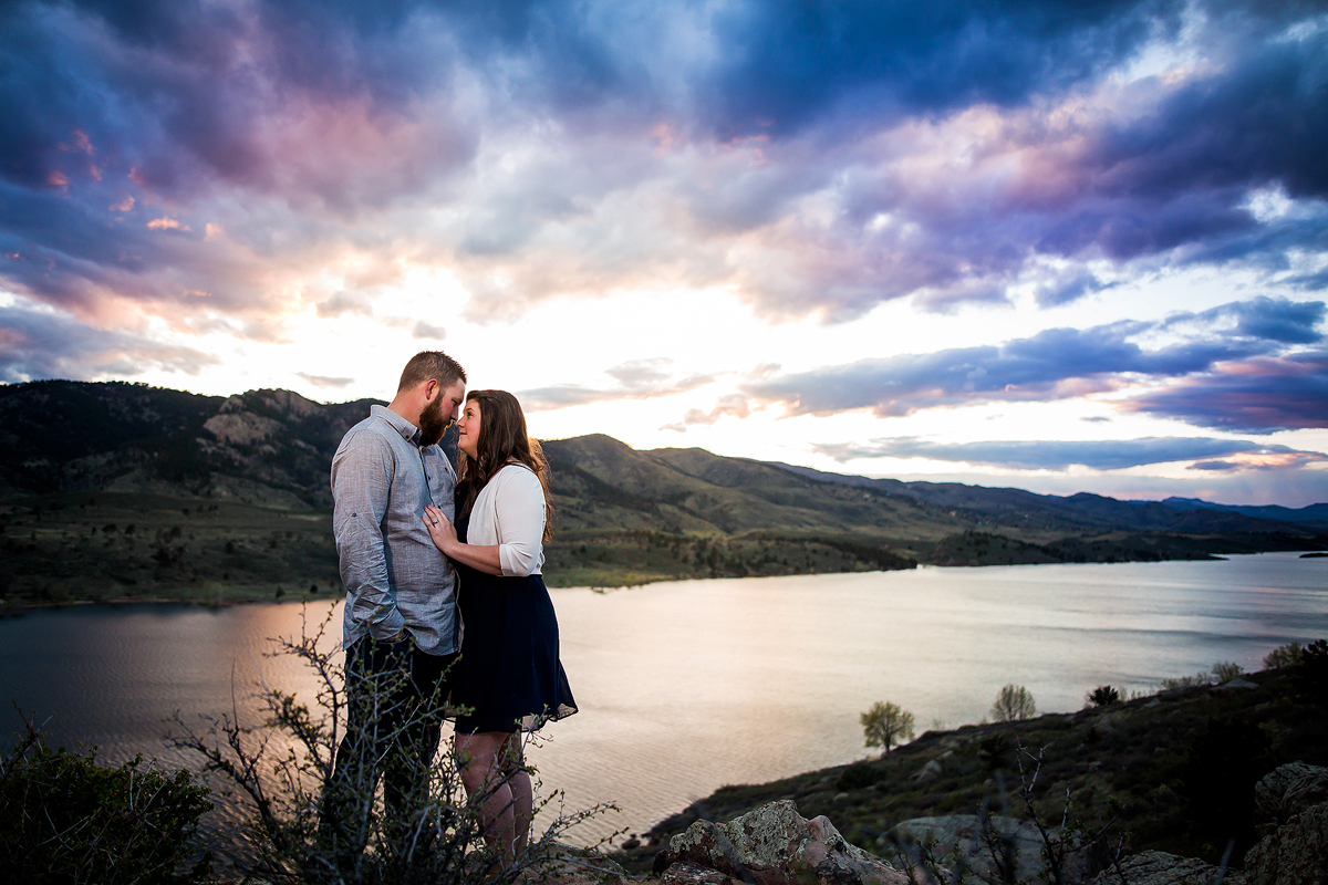 Horsetooth Ft Collins Engagement