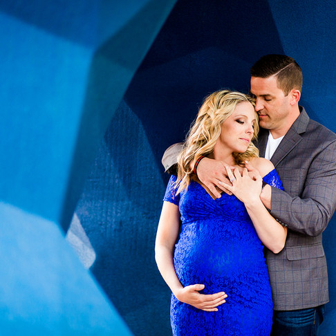 Colorado Downtown Urban Maternity - Hannah & Scott - Denver Maternity Photography - Sarah Goff P