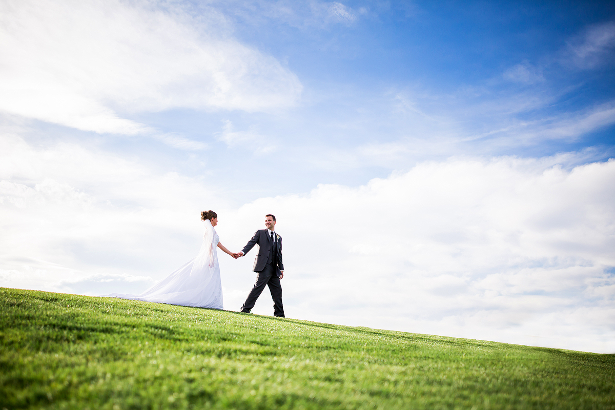 Golf Course Wedding Windsor Colorado