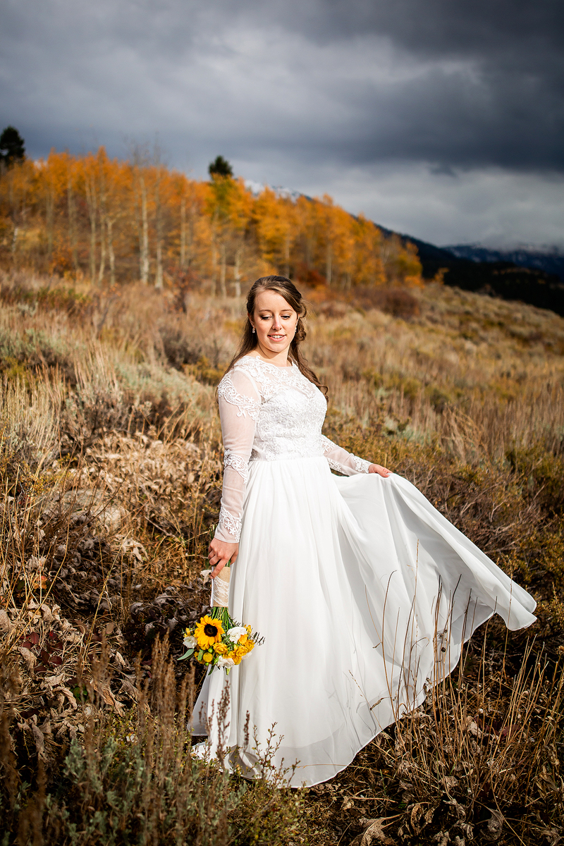Colorado Mountain Wedding Photograph