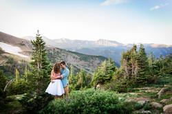 RMNP Engagement Photography