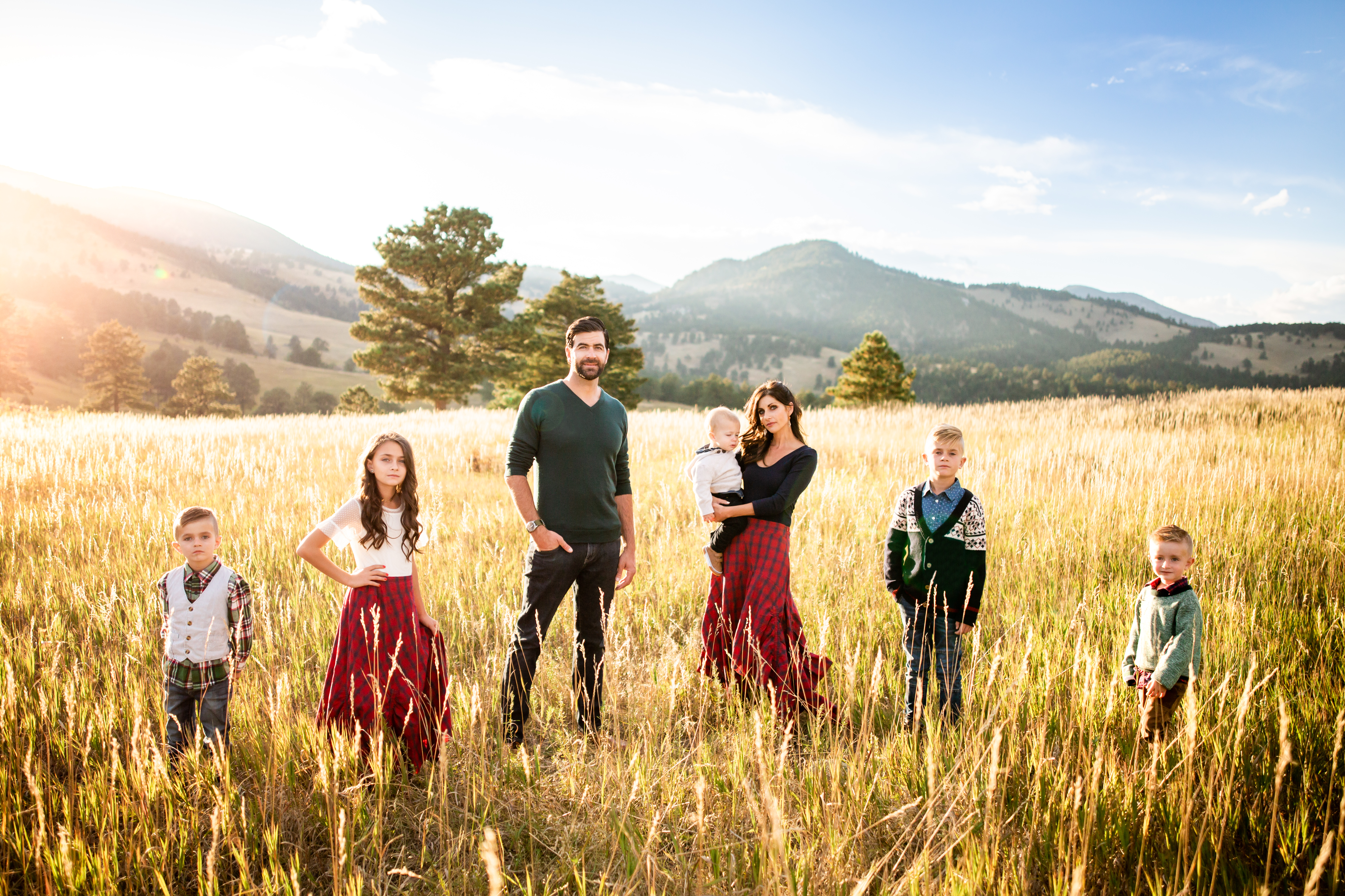 Golden Family Photo White Ranch