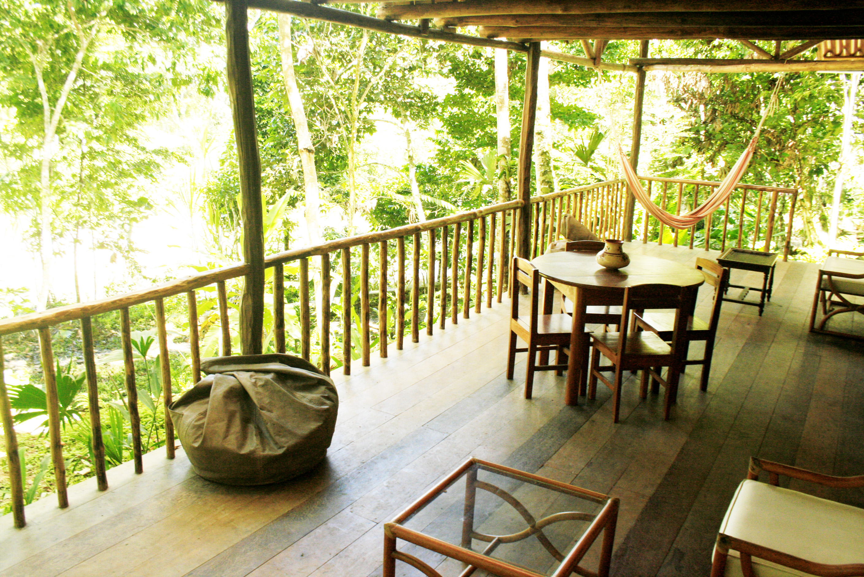 TERRACE AT YACU MANTA HOUSE