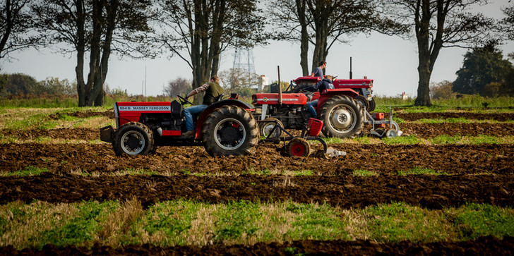 Spring Ploughing completion, St John, Jersey