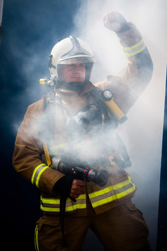 No Ordinary day job, Jersey Fire and rescue
