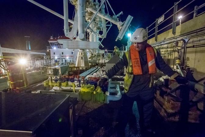 Ronez cement boat