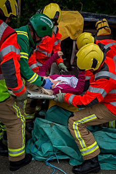 Emergency services exercise  St Johns Jersey