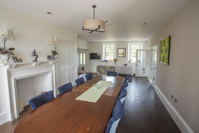 Refurbished property interior Jersey