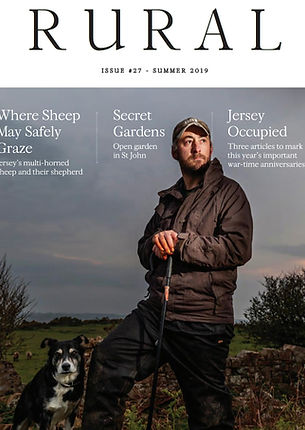 Cover of Rural Jersey, magazine,by Gary Grimsahaw, photoreportage, jersey