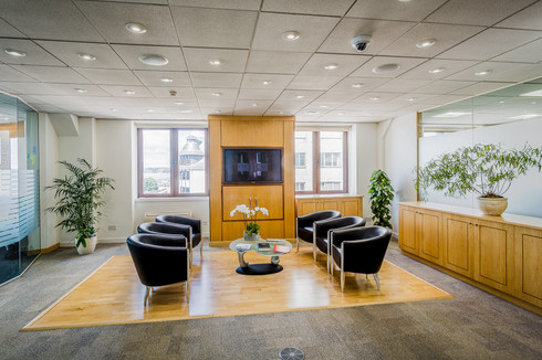 Office interior St Helier Jersey