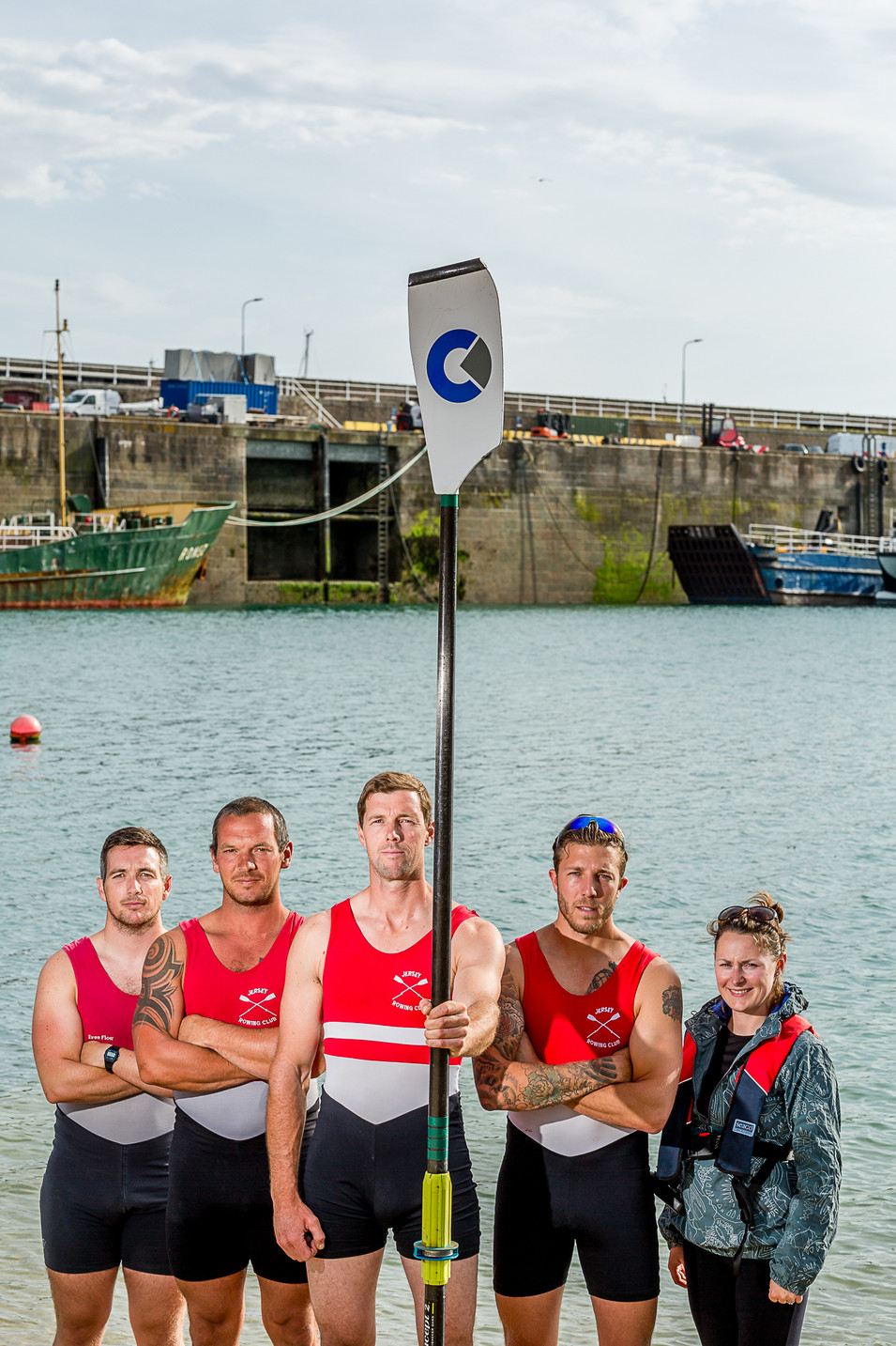 Rowing, Jersey to Sark