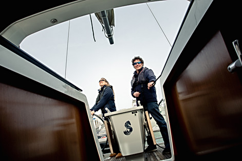 No ordinary day job go sail