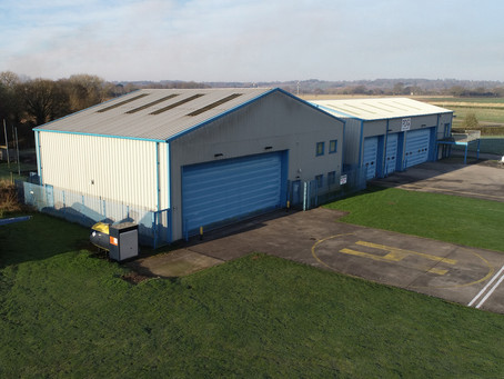Hangar 40 now available for lease