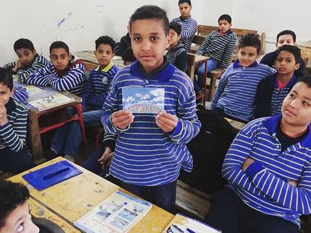 Zavod Krog ozavešča skoraj 900 otrok v Egiptu o njihovih pravicah