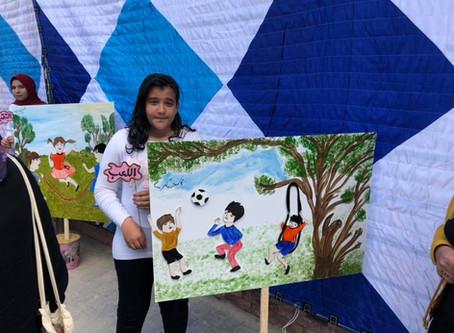 Egiptovski otroci pripravili dogodek o otrokovih pravicah