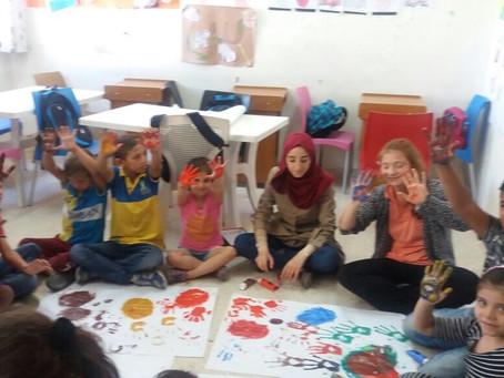 Zavod Krog poskrbel za izobraževanje 261 otrok in poklicno usposabljanje 60 žensk v Jordaniji