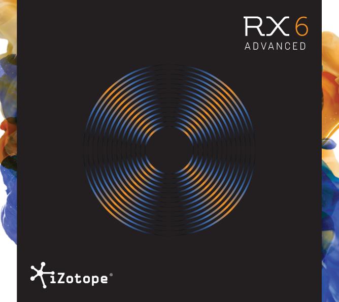 iZotope RX6 Advanced