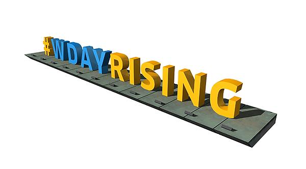 #wdayrising liffey dublin