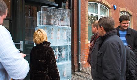 vodka ice block belfast