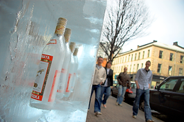 vodka ice blocks belfast