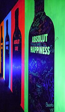 UV Inspiration wall belfast