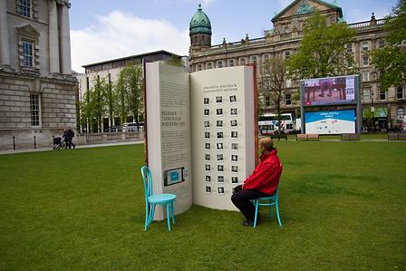 Big book belfast city hall