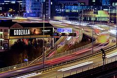 M3 motorway banner