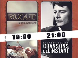 Roucaute et Laurent Berger, des frères de la côte à l'abordage du théâtre de Ménilmontant, les 2