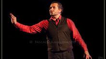 Roucaute à la 20ème édition du Festival Chansons de Parole de Barjac.