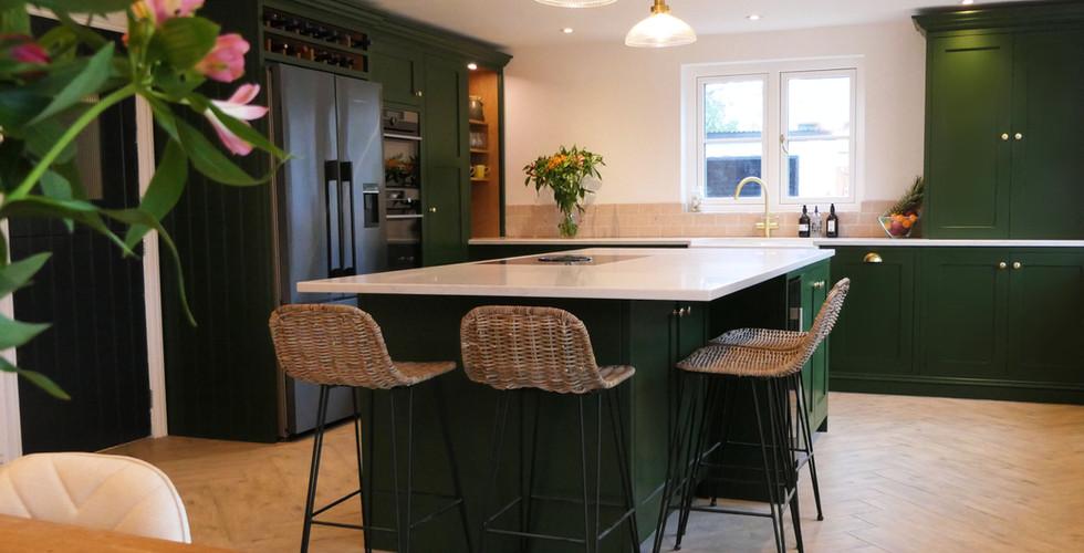 Green Handmade Kitchen | Ferrara | Minerva Design