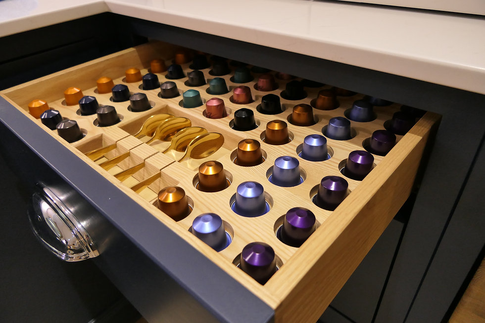 Coffee drawer insert