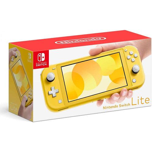 Nintendo Switch Lite Console Yellow