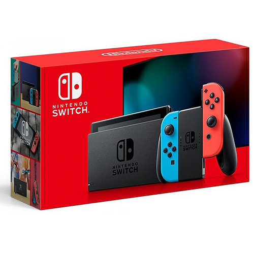 Nintendo Switch Gen 2 Console w Red/Blue Joy-Con