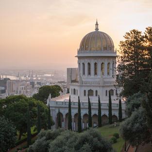 Photos of the Bahá'í Gardens in Haifa