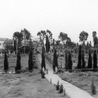 Historic photos of the Bahá'í Gardens in 'Akko