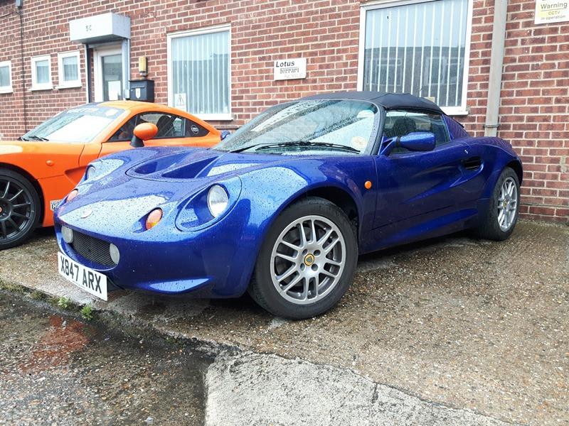 Lotus Elise S1 Deposit taken.
