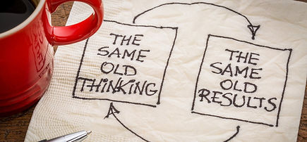 organizational change, transformation, transition, succession requires new thinking