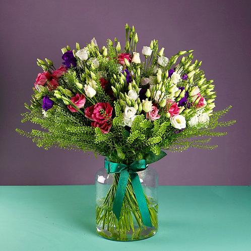 Superior Lisianthus Bouquet
