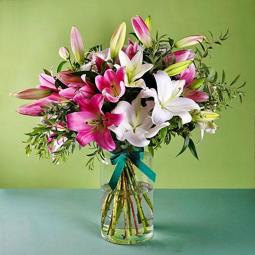 Superior Lily Bouquet