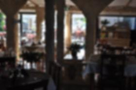 Intérieur restaurant pizzeria Sous un ciel d'Italie