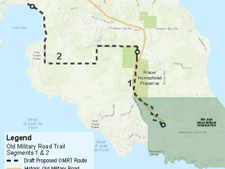 Trail Times, Spring 2021: Section 2 of the Old Military Road Trail